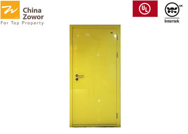 Cina 40 mm Single Leaf Baja Kanan / Kiri FD30 Fire Door / ATR 63,9 ℃ / Frame Kedalaman 90 mm Distributor